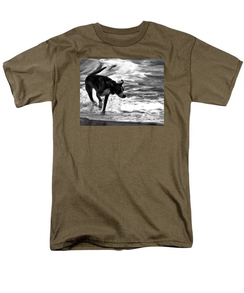 Surfer Bird Men's T-Shirt  (Regular Fit) by Robert McCubbin
