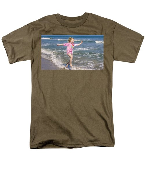 Surf's Up Men's T-Shirt  (Regular Fit) by Rob Sellers