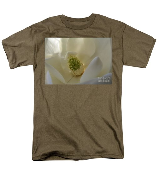 Men's T-Shirt  (Regular Fit) featuring the photograph Sweet Magnolia by Peggy Hughes