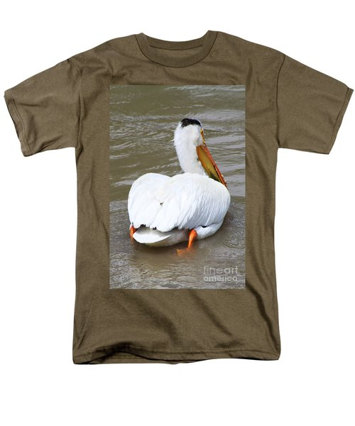 Men's T-Shirt  (Regular Fit) featuring the photograph Swimming Away by Alyce Taylor