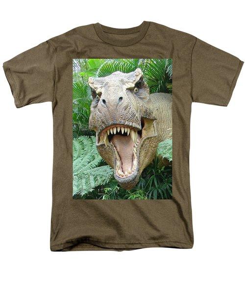 T-rex Men's T-Shirt  (Regular Fit) by David Nicholls