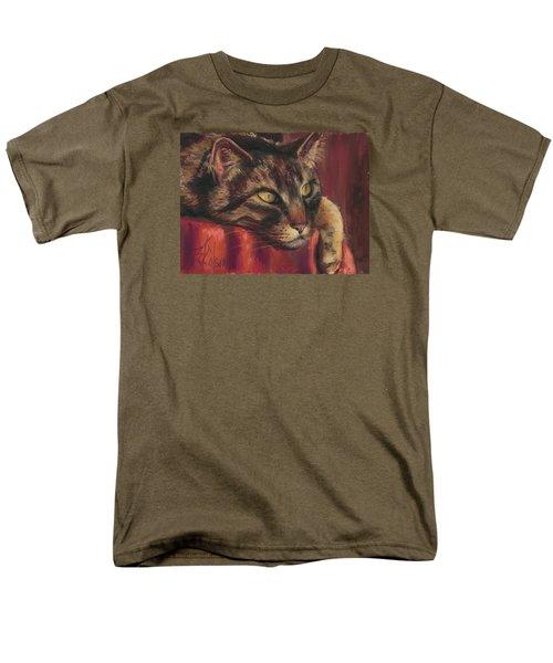 Tabby Nap Men's T-Shirt  (Regular Fit) by Billie Colson