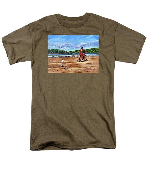 Taking A Ride  Men's T-Shirt  (Regular Fit)