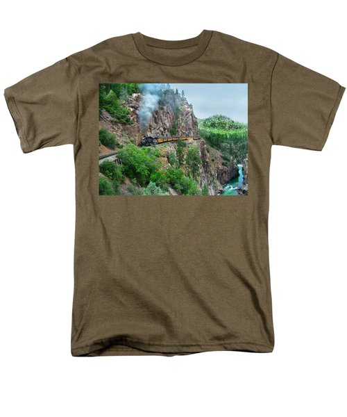 Taking The Highline Home Men's T-Shirt  (Regular Fit) by Ken Smith