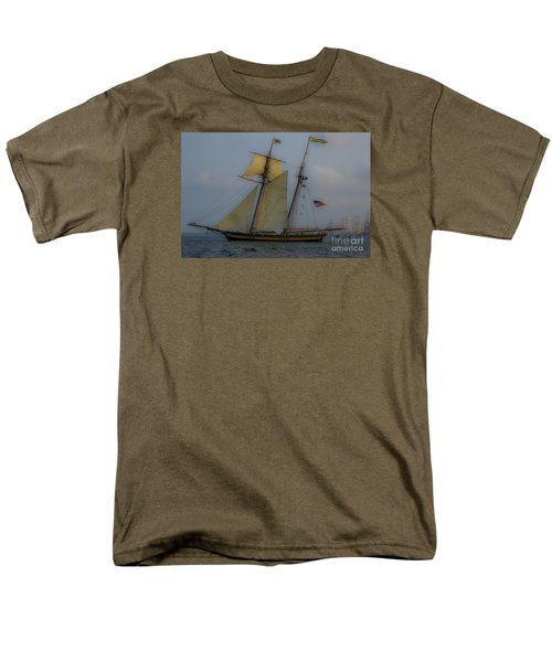 Tall Ships In The Lowcountry Men's T-Shirt  (Regular Fit) by Dale Powell