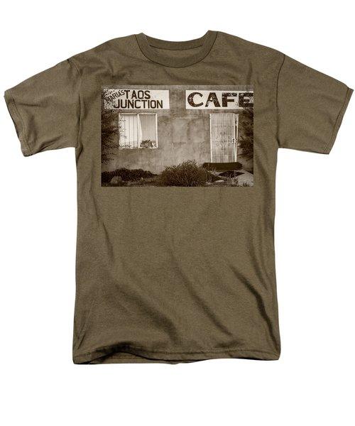 Taos Junction Cafe Men's T-Shirt  (Regular Fit) by Steven Bateson