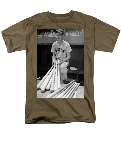 Ted Williams Men's T-Shirt  (Regular Fit) by Gianfranco Weiss