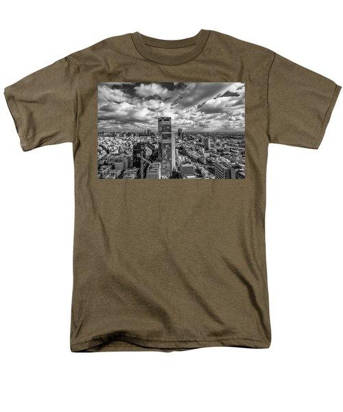 Tel Aviv High And Above Men's T-Shirt  (Regular Fit) by Ron Shoshani