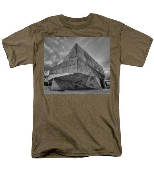 Men's T-Shirt  (Regular Fit) featuring the photograph Tel Aviv Museum  by Ron Shoshani