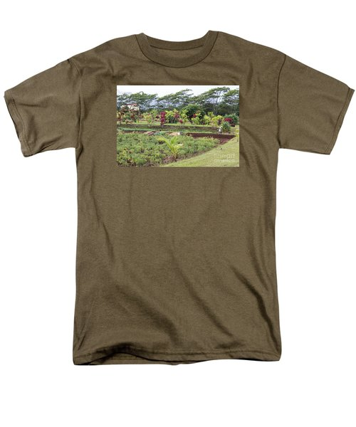 Tending The Land Men's T-Shirt  (Regular Fit) by Suzanne Luft