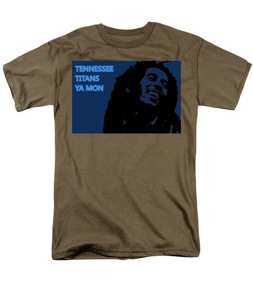 Tennessee Titans Ya Mon Men's T-Shirt  (Regular Fit) by Joe Hamilton