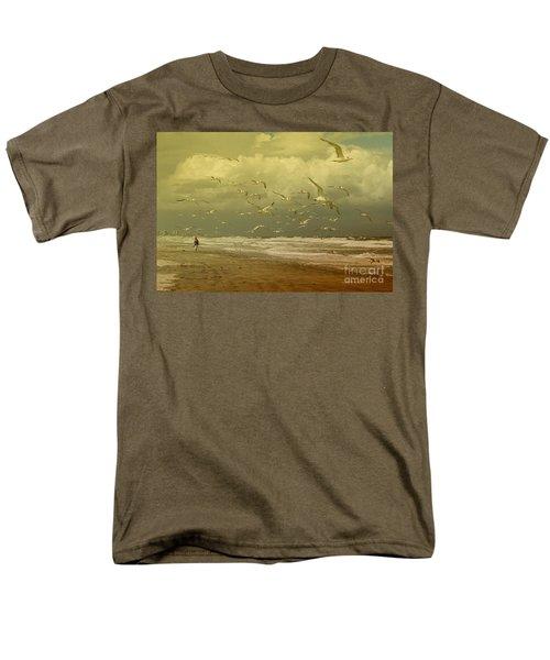 Terns In The Clouds Men's T-Shirt  (Regular Fit) by Deborah Benoit
