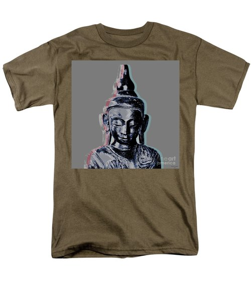 Thai Buddha #2 Men's T-Shirt  (Regular Fit) by Jean luc Comperat