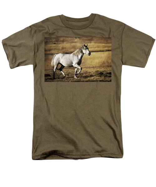 Men's T-Shirt  (Regular Fit) featuring the photograph That Golden Hour D3550 by Wes and Dotty Weber