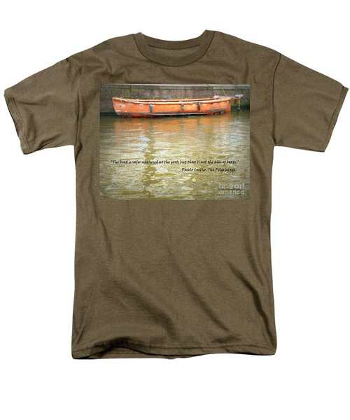 The Aim Of Boats Men's T-Shirt  (Regular Fit) by Lainie Wrightson