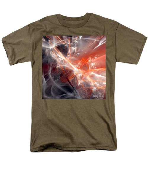 Men's T-Shirt  (Regular Fit) featuring the digital art The Battle by Margie Chapman