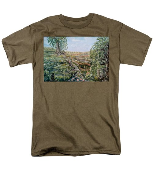 The Beauty Of A Marsh Men's T-Shirt  (Regular Fit) by Felicia Tica