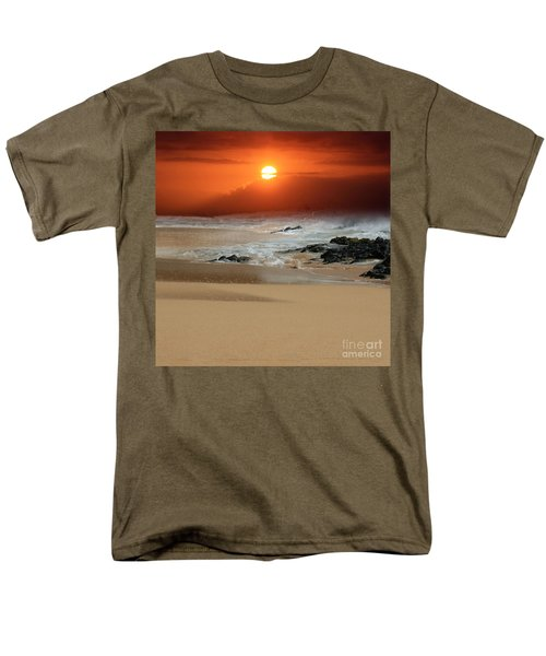 The Birth Of The Island Men's T-Shirt  (Regular Fit) by Sharon Mau