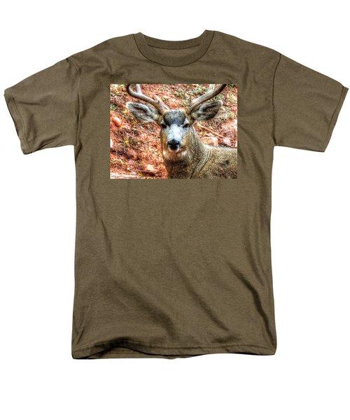 The Buck I Men's T-Shirt  (Regular Fit) by Lanita Williams