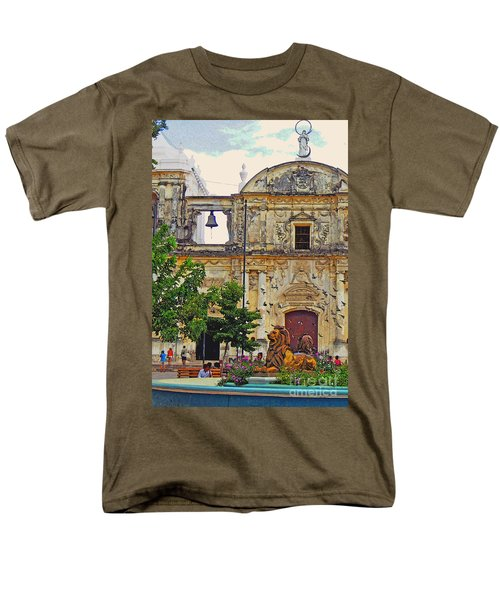 The Cathedral Of Leon Men's T-Shirt  (Regular Fit) by Lydia Holly