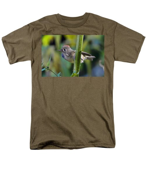 Men's T-Shirt  (Regular Fit) featuring the photograph The Challenge by Gary Holmes
