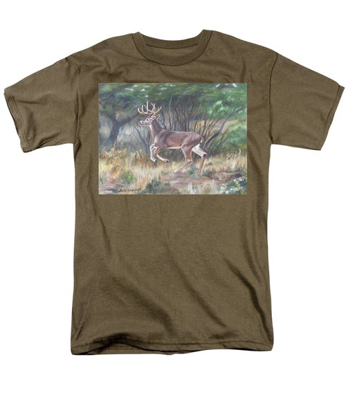 The Chase Is On Men's T-Shirt  (Regular Fit) by Lori Brackett
