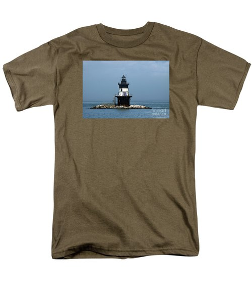 The Coffee Pot Lighthouse Men's T-Shirt  (Regular Fit) by Christiane Schulze Art And Photography