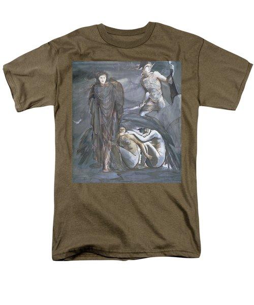 The Finding Of Medusa, C.1876 Men's T-Shirt  (Regular Fit) by Sir Edward Coley Burne-Jones