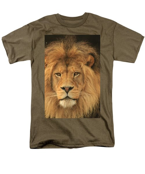 The Glory Of A King Men's T-Shirt  (Regular Fit) by Laddie Halupa