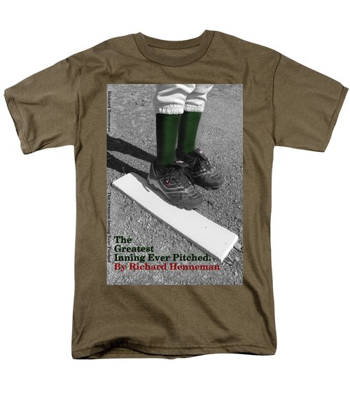The Greatest Inning Ever Pitched Men's T-Shirt  (Regular Fit) by Mark Minier