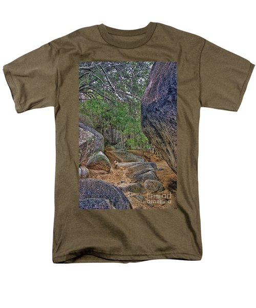 Men's T-Shirt  (Regular Fit) featuring the photograph The Guide by Olga Hamilton