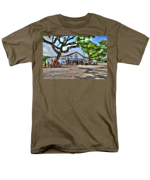 Men's T-Shirt  (Regular Fit) featuring the digital art The Hardware Store by Michael Thomas