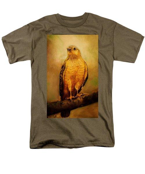 The Hawk Men's T-Shirt  (Regular Fit) by Jean Cormier
