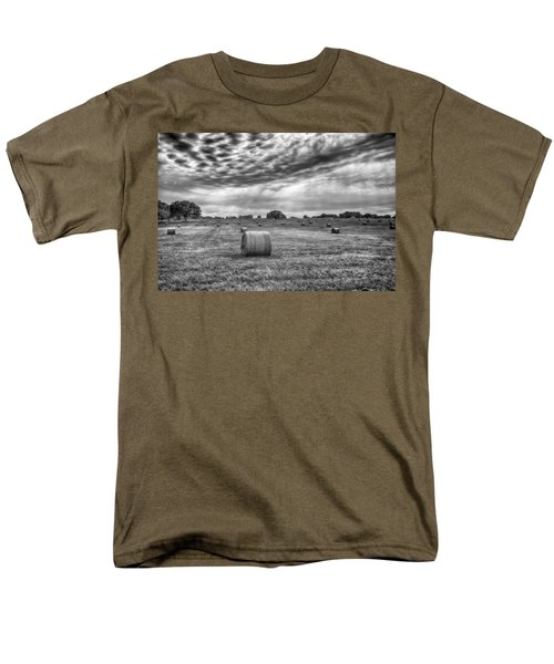 The Hay Bails Men's T-Shirt  (Regular Fit) by Howard Salmon