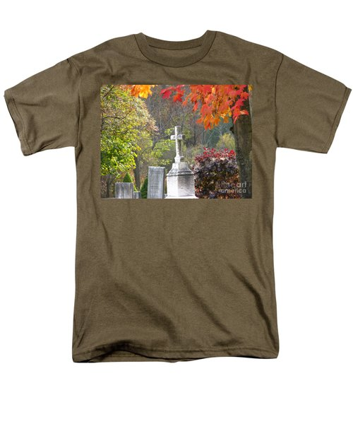 The Holy Cross Men's T-Shirt  (Regular Fit) by Michael Krek