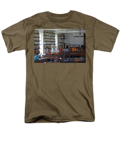 Men's T-Shirt  (Regular Fit) featuring the photograph The Laboratory by Patrick Shupert