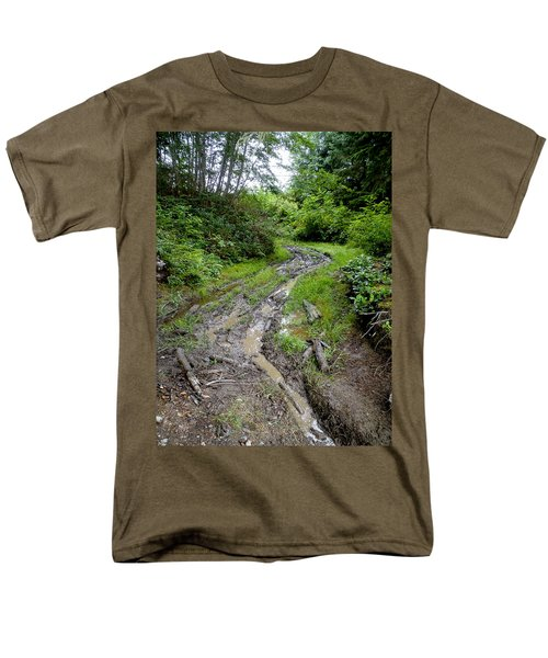 The Ledge Point Trail Men's T-Shirt  (Regular Fit) by Roxy Hurtubise