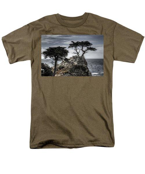 The Lone Cypress Men's T-Shirt  (Regular Fit) by Eduard Moldoveanu