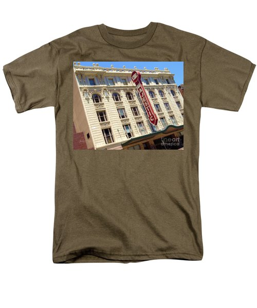 Men's T-Shirt  (Regular Fit) featuring the photograph The Majestic Theater Dallas #1 by Robert ONeil