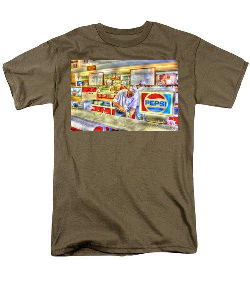 The Malt Shoppe Men's T-Shirt  (Regular Fit) by Dan Stone