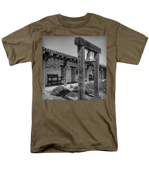 The Mission Bell B/w Men's T-Shirt  (Regular Fit) by Hanny Heim