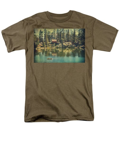The Old Days By The Lake Men's T-Shirt  (Regular Fit) by Laurie Search