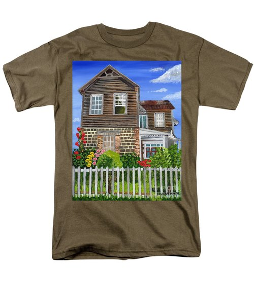 The Old House Men's T-Shirt  (Regular Fit) by Laura Forde