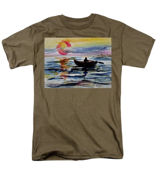 The Old Man And The Sea Men's T-Shirt  (Regular Fit) by Xueling Zou