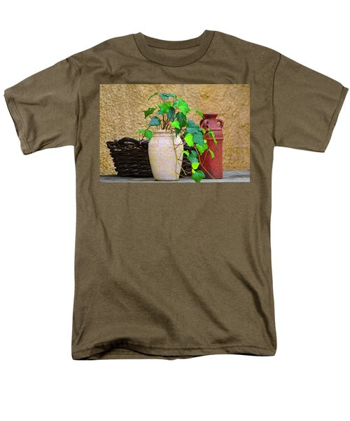 The Old Times Men's T-Shirt  (Regular Fit) by Carolyn Marshall