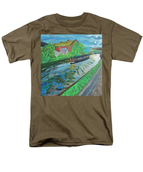 The Pickle - Grand Union Canal Men's T-Shirt  (Regular Fit) by Mudiama Kammoh