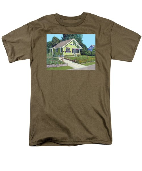 Our Neighbour's House Men's T-Shirt  (Regular Fit) by Gary Giacomelli