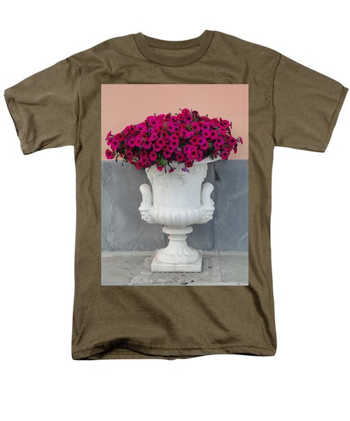 Men's T-Shirt  (Regular Fit) featuring the photograph The Planter by Natalie Ortiz