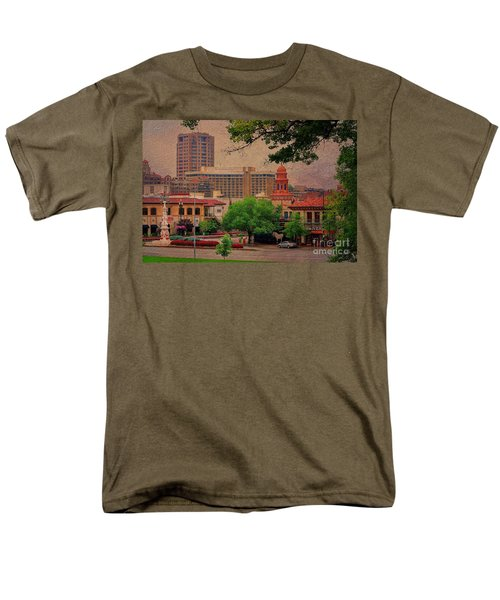 The Plaza - Kansas City Missouri Men's T-Shirt  (Regular Fit) by Liane Wright