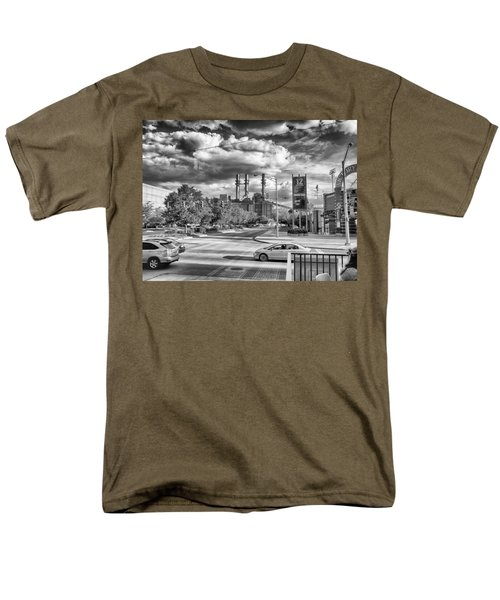 Men's T-Shirt  (Regular Fit) featuring the photograph The Power Station by Howard Salmon